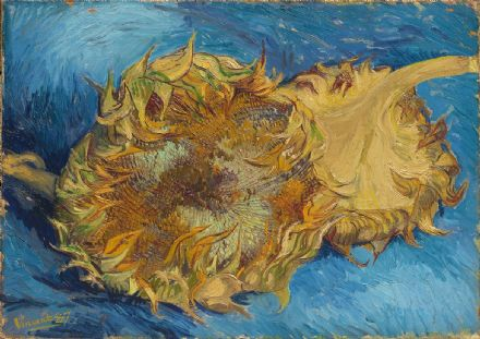 Van Gogh, Vincent: Sunflowers. Fine Art Print/Poster. Sizes: A4/A3/A2/A1 (004191)
